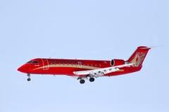 RusLine Canadair Regional Jet CRJ-200ER Royalty Free Stock Photos
