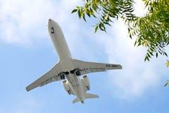 RusLine Canadair Regional Jet CRJ-200ER Royalty Free Stock Image