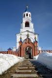` Ruso Dormition de la iglesia ortodoxa del ` de Theotokos Fotos de archivo libres de regalías