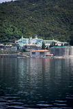 Ruso Panteleimon Monastery Imágenes de archivo libres de regalías