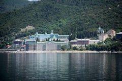 Ruso Panteleimon Monastery Foto de archivo