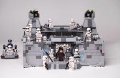 RUSO, SAMARA - 6 de febrero de 2019 Lego Star Wars E imagen de archivo libre de regalías
