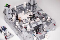 RUSO, SAMARA - 6 de febrero de 2019 Lego Star Wars E foto de archivo