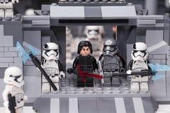 RUSO, SAMARA - 6 de febrero de 2019 Lego Star Wars E imágenes de archivo libres de regalías