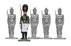 Ruso Toy Soldiers fotos de archivo