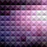 Ruso Violet Abstract Low Polygon Background stock de ilustración
