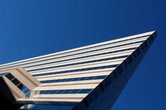 Ruspa spianatrice ad angolo del cielo Fotografie Stock Libere da Diritti