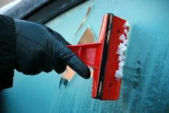 Ruspa spianatrice del ghiaccio Immagine Stock