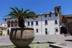 Ruspoli宫殿在切尔韦泰里 库存图片