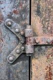 Rusry Metal Door Royalty Free Stock Photo