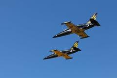 Russ aerobatic group Stock Photo