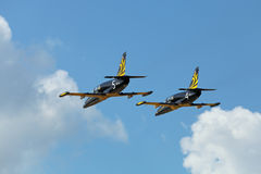 Russ aerobatic group Stock Photo
