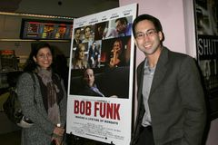 Russ Emanuel przy Los Angeles premiera 'Bob boj'. Laemmle's zmierzchu 5 Theatres, Los Angeles, CA. 02-27-09 obraz stock