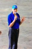 Russ Swift Giving A Speech Stock Image
