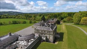 Russborough-Haus Wicklow irland stock video footage