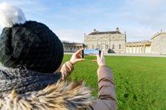 Russborough house in Ireland Stock Photography