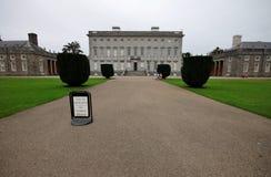 Russborough hus nära Dublin, yttre sikt Royaltyfria Foton