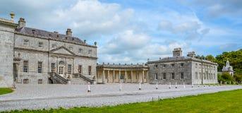 Russborough hus, ståndsmässiga Wicklow, Irland royaltyfri bild