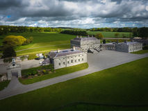 Russborough hus Wicklow ireland royaltyfri bild