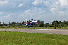 Russe adelt aerobatic Gruppe Stockfotos