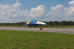 Russe adelt aerobatic Gruppe Lizenzfreies Stockbild