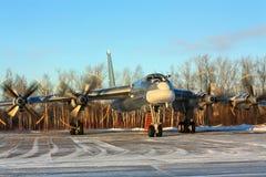 ` Russe d'ours de ` du bombardier Tu-95 Photos libres de droits