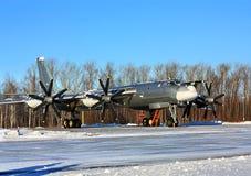 ` Russe d'ours de ` du bombardier Tu-95 Images stock