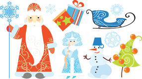 Russe Ded Moroz Images stock