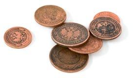 Russe en bronze antique de pièce de monnaie Photo libre de droits