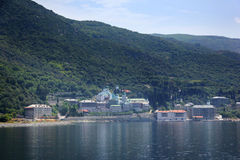 Russe Panteleimon Monastery Stockbild