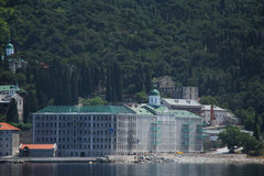 Russe Panteleimon Monastery Lizenzfreie Stockfotos