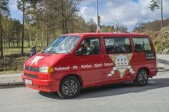 Russe spotkanie przy Fredriksten fortecą 2015 (kraje spotyka) (samochód) Fotografia Royalty Free