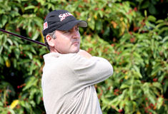 Russel au golf de ouvert Paris 2009 Photo stock