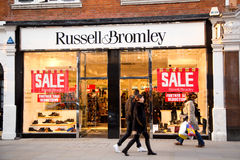 Russel and bromley Royalty Free Stock Photography
