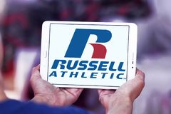 Russell Athletic märkeslogo Royaltyfri Bild