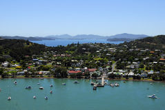 Russell, Bay of Islands, New Zealand stock photography