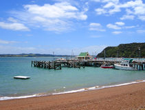 Russell, Bay of Islands, New Zealand Stock Image