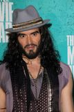 Russell Brand at the 2012 MTV Movie Awards Press Room, Gibson Amphitheater, Universal City, CA 06-03-12. Russell Brand  at the 2012 MTV Movie Awards Press Room Stock Image