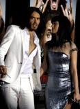 Russell Brand en Katy Perry stock afbeeldingen