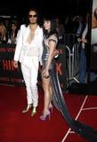 Russell Brand en Katy Perry stock afbeelding