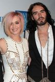 Russell Brand, Katy Perry Stock Image