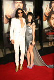 Russell Brand and Katy Perry #6. Russell Brand and Katy Perry attend the premiere of 'Get Him to the Greek' at the Greek Theater in Los Angeles Royalty Free Stock Photography