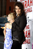 Russell Brand and Kristen Bell Royalty Free Stock Photography