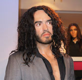 Russell Brand at Madame Tussaud's Stock Images
