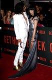 Russell Brand och Katy Perry royaltyfria foton
