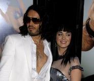 Russell Brand und Katy Perry lizenzfreie stockfotos