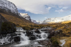 Russell Burn and the Bealach na Ba Stock Image