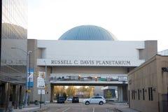 The Russell C. Davis Planetarium, Jackson, Mississippi. Stock Photos