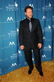 Russell Crowe, Simon Wiesenthal Lizenzfreie Stockfotografie