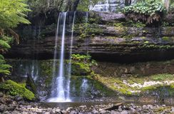 Russell Falls Tasmania Australia photo stock